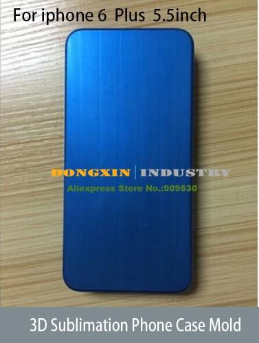 3D Sublimation Phone Case mould For Iphone 6 Plus Heat transfer Phone Case Mold  цены