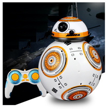 Smart Universe War Upgrade RC BB-8 Robot with Sound Action Figure Gift Toy BB-8 Ball Robot 2.4G Remote Control star wars bb 8 rc robot star wars bb 8 2 4g remote control bb8 figure robot action robot sound intelligent toys car for children