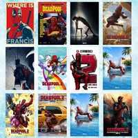 2018 Deadpool 2 Hot Movie Art Silk Canvas Poster 13x20 24x36 inch-002