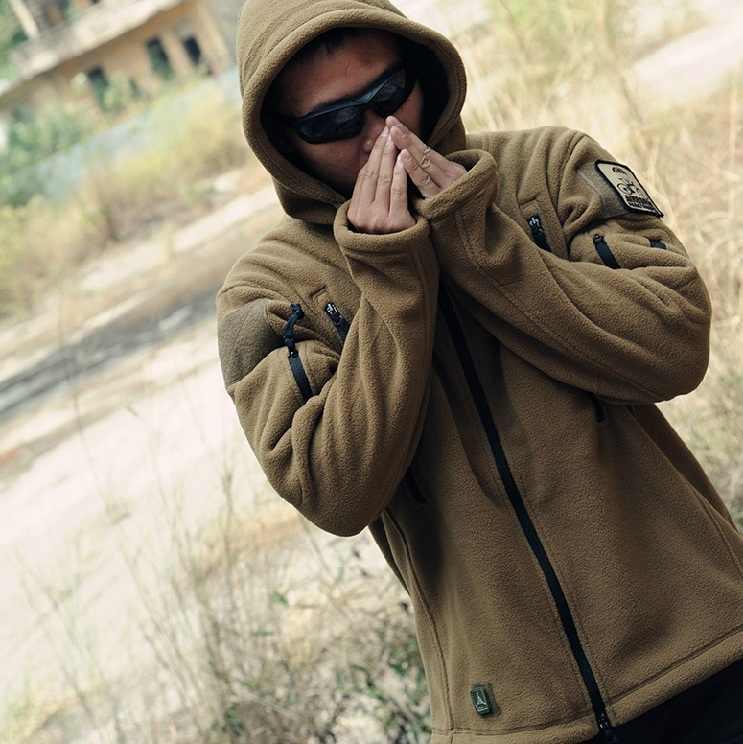 Мужская Флисовая Куртка TAD, повседневная тактическая флисовая куртка в стиле милитари, одежда охотника, Термальная Толстовка для походов