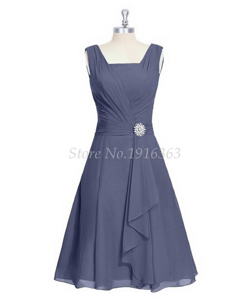 2019 robes De demoiselle d'honneur Vestido De Festa De Casamento pour robe De mariée longue robe De soirée robes formelles longueur au genou expédition rapide