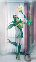 lol new Skin Star Guardian Lux cosplay costume for girls Cosplay Uniform Halloween Costumes natural element version