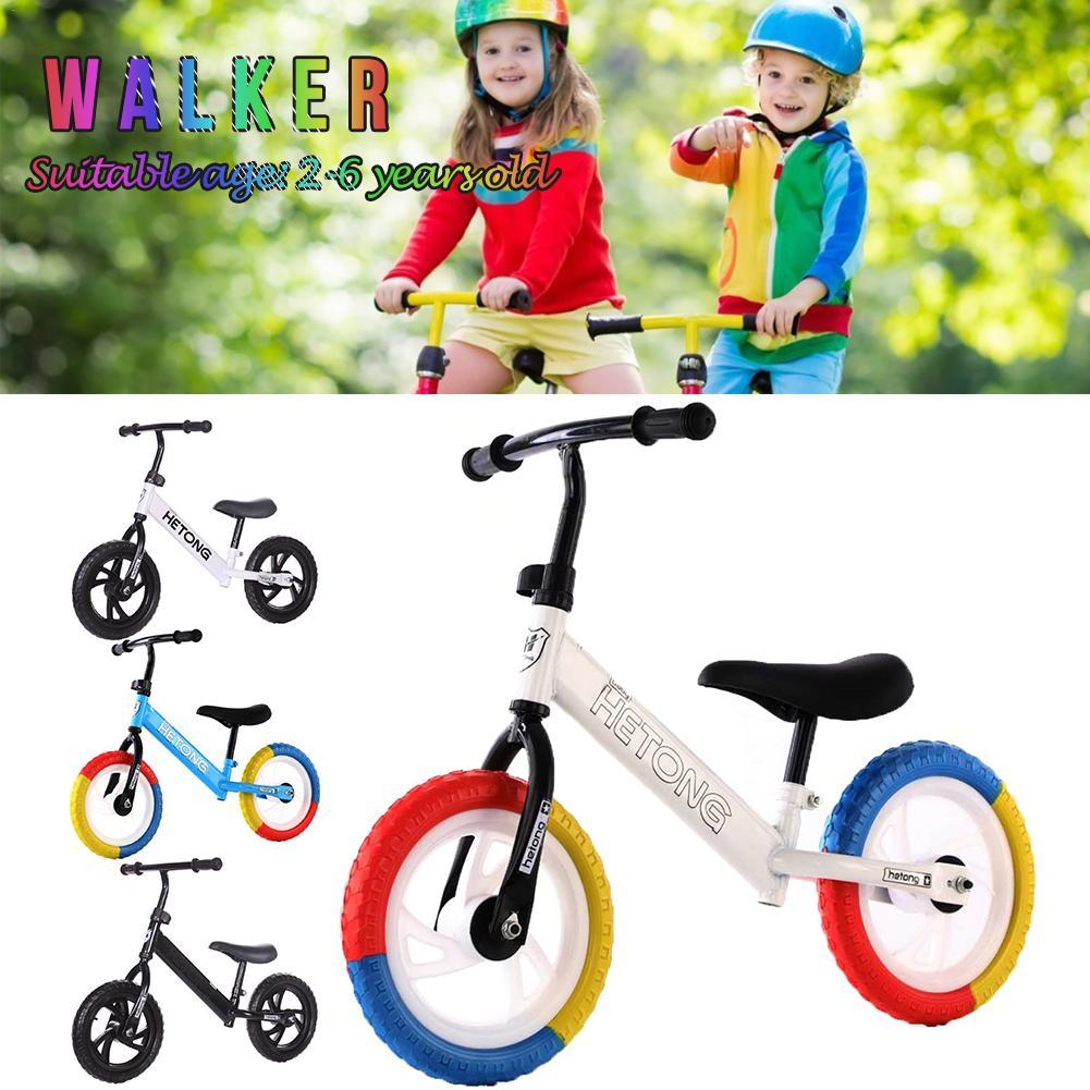 Children Balance Bike No Pedal Kid Ultralight Cycling Practice Driving Bike Two Wheels Walker Scooter Riding Innrech Market.com