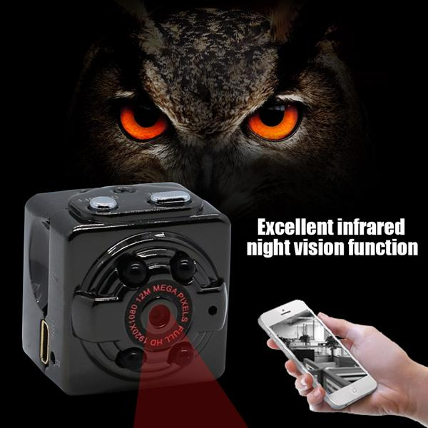 Camera Neutral SQ8 Mini Recorder Mini DV Night Vision Infrared HD CameraCamera Neutral SQ8 Mini Recorder Mini DV Night Vision Infrared HD Camera