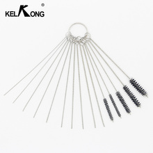 KELKONG Carburetor Tool Carbon Dirt Jet Remove 10 Cleaning Needles With 5 Brushes Tool Set For Suzuki Clean Up Kit Chainsaw
