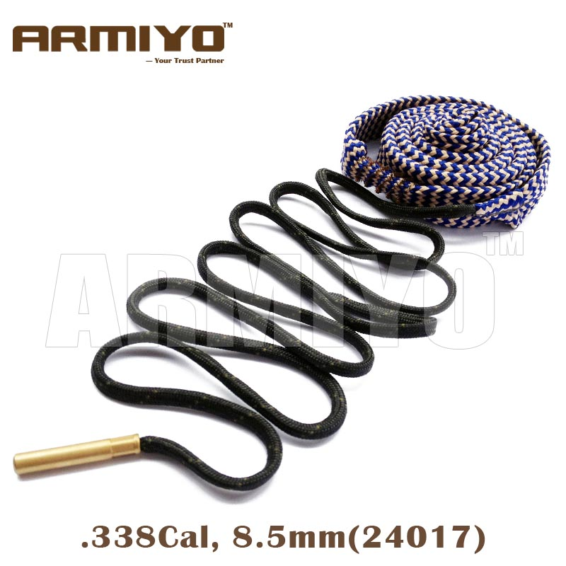 Armiyo Bore Snake .338 .340 Cal 8.5mm Gun Bore Cleaning Sling Rifle Barrel Cleaner 24017 Hunting Shooting Clean Accessories