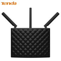 Tenda AC15 1900 Мбит/с Беспроводной двухдиапазонный гигабитный WI-FI маршрутизатор, WI-FI ретранслятор, 1300 Мбит/с при 5 ГГц, 600 Мбит/с при 2.4 ГГц, USB 3.0 Порт...