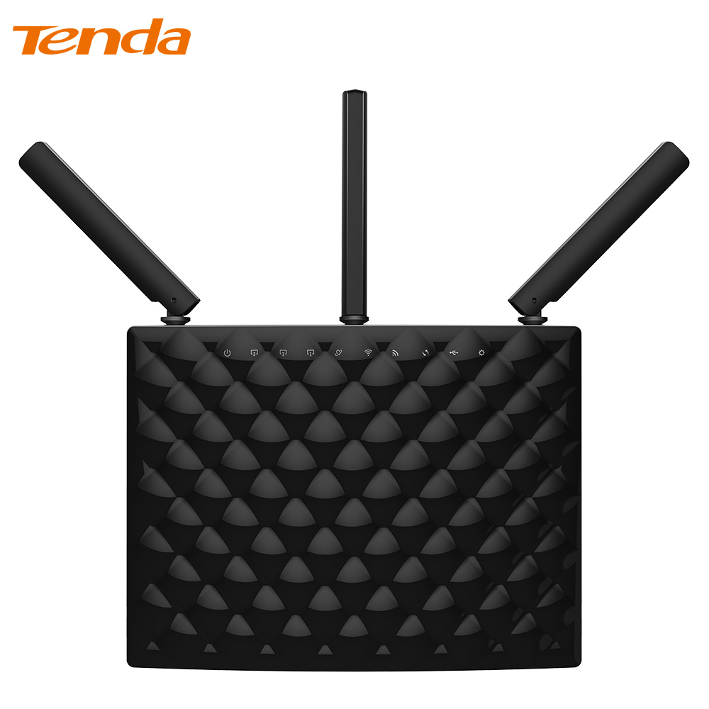 цены  Tenda AC15 1900Mbps Wireless Dual Band Gigabit WIFI Router,WIFI Repeater, 1300Mbps at 5GHz, 600Mbps at 2.4GHz,USB 3.0 Port, IPv6