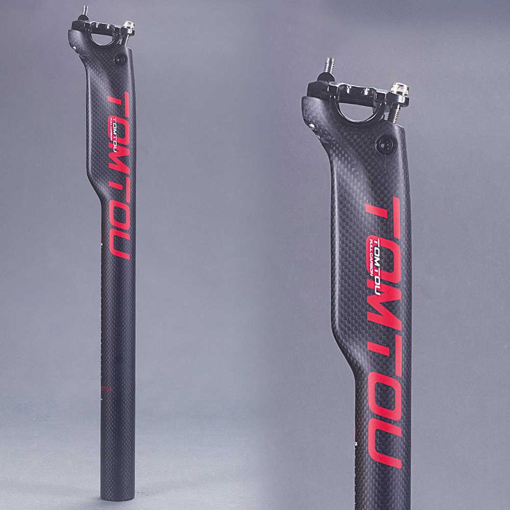 Bicycle Suspension Seatpost Road  MTB Bike Carbon Fiber 27.2//30.8//31.6 Seat Tube