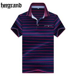 Hee grand 2017 striped style men s short sleeve polo shirt men s striped knit small.jpg 250x250