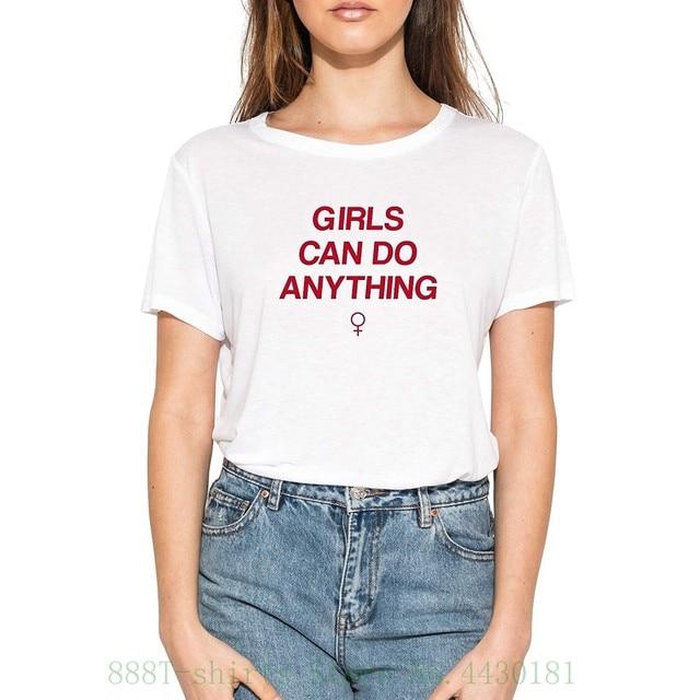 Women S Tee Minga London Girls Can Do Anything T Shirt Tee Top