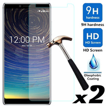For CoolPad Legacy 2pcs/lot Tempered Glass Screen Protector Explosion-proof Anti Scratch Front Films