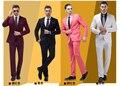 Chaqueta para hombre rojo negro blanco verde púrpura de color rosa multicolor Hodginsii chaqueta ropa hombre vestido formal ropa hombre