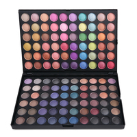 Free Shipping Pro 120 Full Color Eyeshadow Palette Make Up Pallete Eye Shadow Makeup Cosmetics