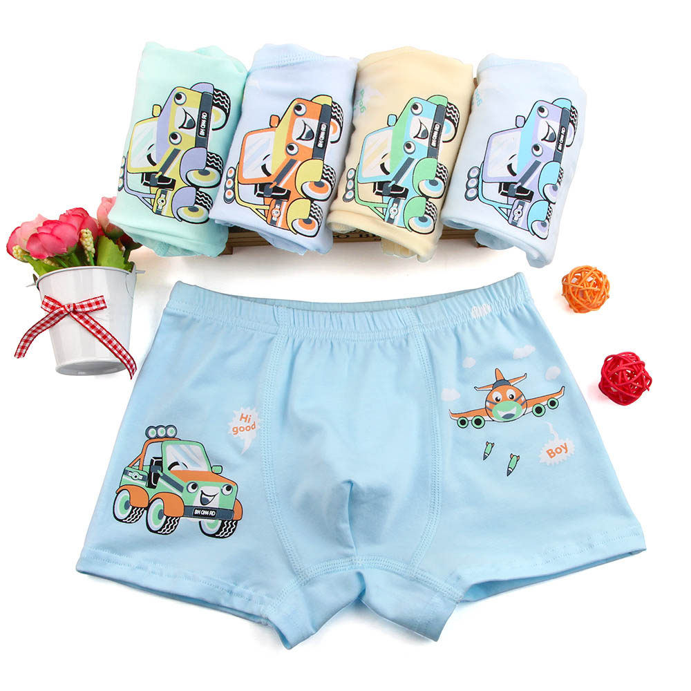 Boy Boxer 5 Pcs/lot Baby Boys Underwear Kids Panties