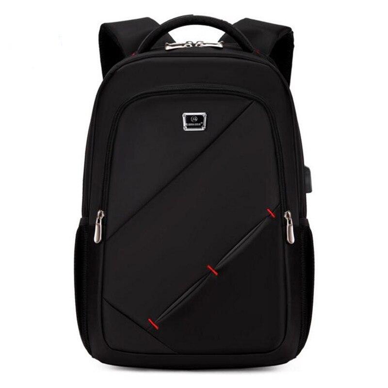 Unisex Fashion Laptop Bckpack Men School Bags Women's Waterproof Large Backpacks For Teenager Girls 2017 new korean style tuguan brand unisex men 15 6 laptop school backpacks women fashion school bags for teenager boys and girls