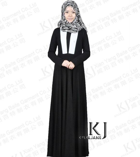3c965fd61e0b7 2015 Islam rahat abaya müslüman kız moda pamuk elbise türk kadın giyim  burka siyah robe artı boyutu dubai arap djellaba