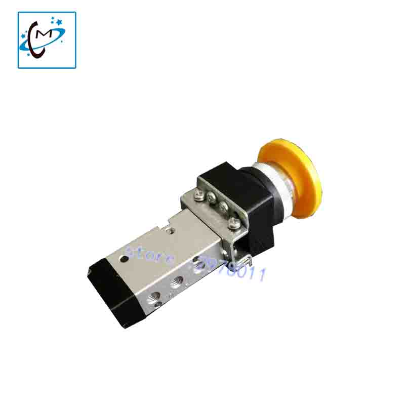 Flora inkjet printer spare parts LJ320K LJ3208K LJ320P LJ3208P Q25R1C-L3-Y  manual ink pressure switch ink valve good quality 1pc inkjet printer machine of myjet ink pump for myjet xaar 128 printhead spare parts
