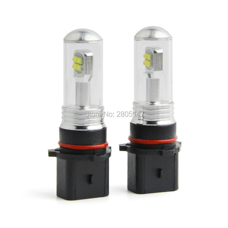 2pcs P13W LED Bulb Xenon White LED Fog Light Car Signal Bulb Lamp DC 12V-24V High quality Daytime Running Lights DRL 2x 80w h7 led bulb 16 smd osram car fog light dc 12v 24v 360 degree 760lm white fog light 6000k drl fog lamp light sourcing
