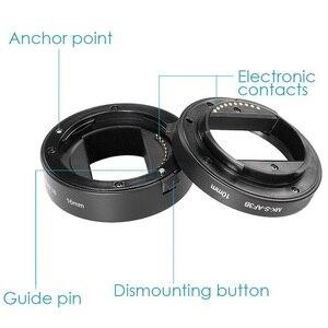 Image 3 - Meike automatyczne ustawianie ostrości pierścienie pośrednie makro pierścień dla Sony E do montażu na A6300 A6500 A6000 A7 A7II A7III A7SII NEX 7 NEX 6 NEX5R NEX 3N NEX 5