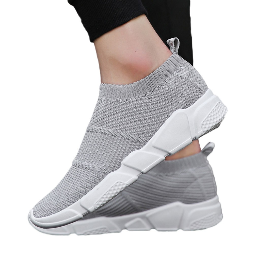 KLV  men sneakers men running shoes gym sneakers for male sports shoes summer female sneakers breathable zapatos de hombre #2 sneakers