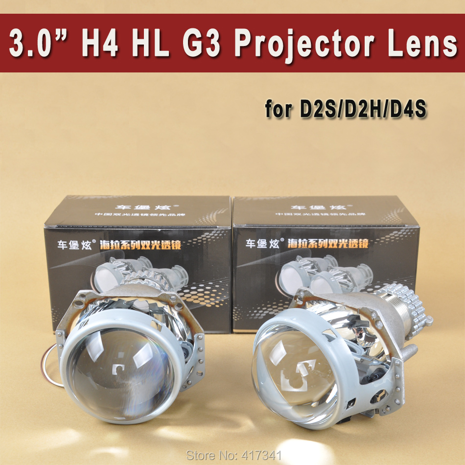 LHD HID Bi-xenon Projector Lens H4 HL G3 Clear Lens D2H D2S Bulb Socket Domestic Xenon Lens headlight Retrofit Replacement видеорегистратор f880 lhd в самаре
