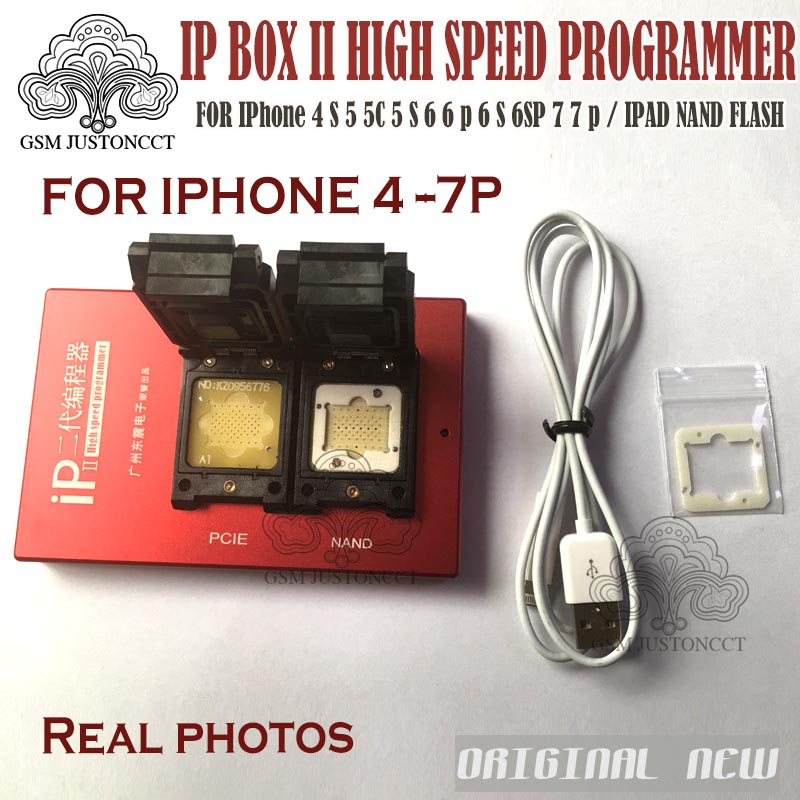 2019 IP Box 2 Th Newest IP BOX V2 High Speed Programmer NAND PCIE Programmer For IPhone 4S 5 5C 5S 6 6P 6S 6SP 7 7P