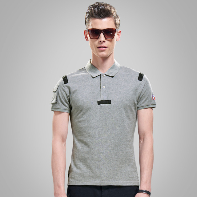 2015 Summer Style fashion Brand Design Solid Polo Shirts Men's ...