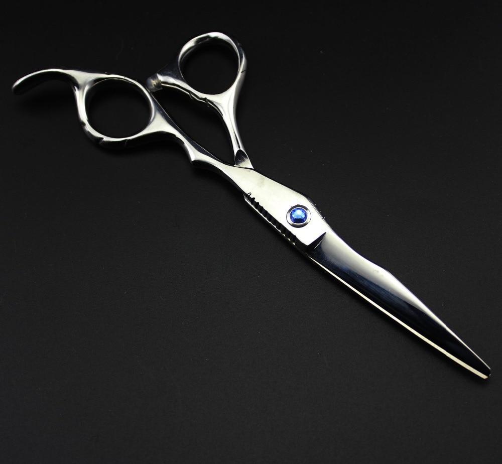 profesional 6 inci 440c 6cr13 potong gunting rambut set pemotong - Penjagaan rambut dan penggayaan - Foto 2