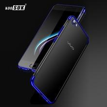 Vivo Y71 KOOSUK Luxury Ultra thin Soft TPU Back Cover Case for Vivo Y79 V7  Plus 2c1d068e509e