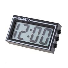Lighted Car-Clock Dashboard Date-Time Digital Black Mini Electronic Truck Calendar High-Quality