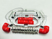 2 36 INCH OD 60mm UNIVERSAL 2MM THICKNESS ALUMINUM INTERCOOLER TURBO PIPE PIPING