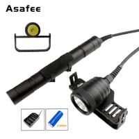 Asafee DIV09 Diver факел свет лампы CREE XM L2 подводный разделение стиль светодио дный светодиодный Дайвинг фонарик с 3*26650 батарея и зарядное устройств