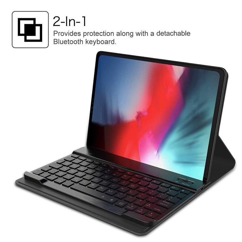 2 For iPad 11 Inch case Keyboard