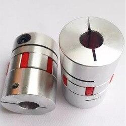 1 sztuk silnik cnc szczęki sprzęgło wału elastyczny pająk plum sprzęgło D25 L30 4mm 5mm 6mm 6.35mm 7mm 8mm 9mm 9.525mm 10 12 12.7mm