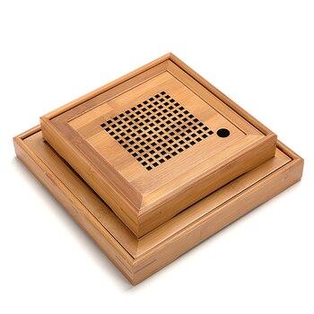 TANGPIN Vassoi Bordo Di Tè Accessori Kung Fu Tè Vassoio Del Tè Di Bambù Tavolo