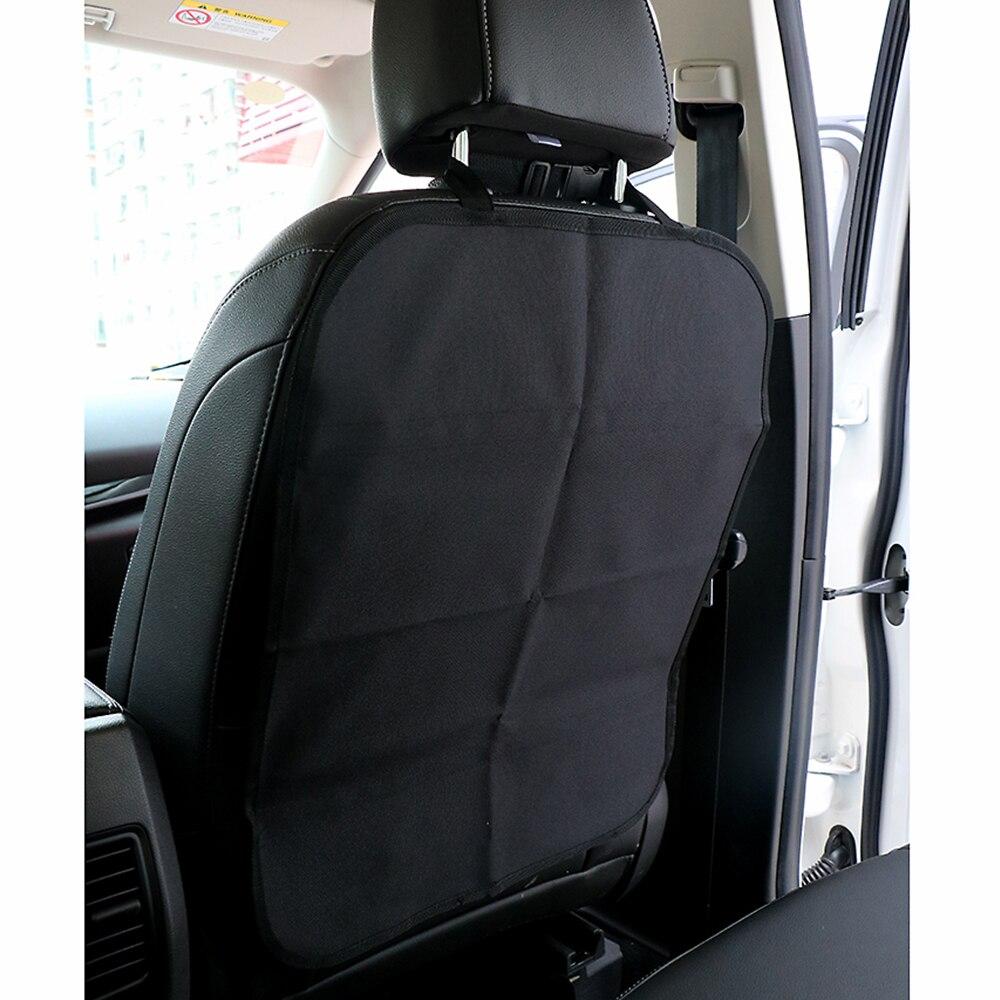 Asiento de coche cubierta trasera proteger de la suciedad de barro protección de los niños bebé pateando auto Asientos Tapas protectores Oxford tela