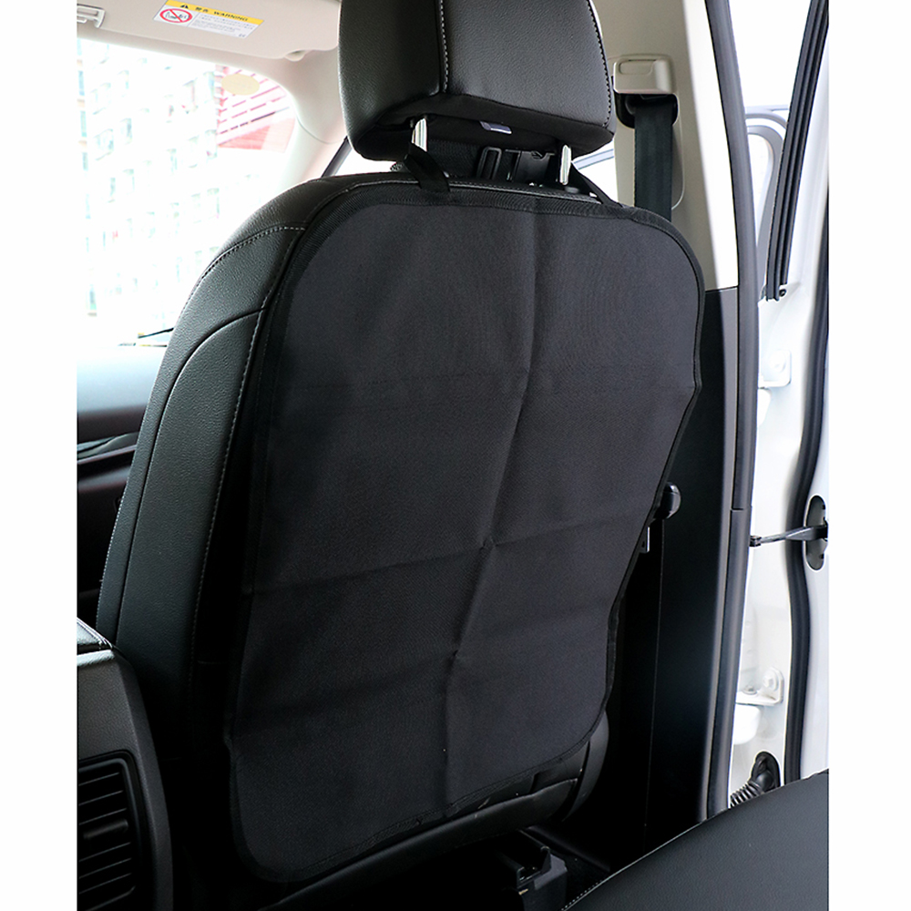 Car Seat Back Cover Protect from Mud Dirt Protection from Children Baby Kicking Auto Seats Covers Protectors Oxford Cloth new arrival car auto care seat back protector case cover for children baby kick mat mud clean plastic transparent anti kick pad