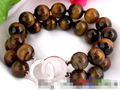 """Hot sell Noble- 0716 2strands 8"""" nature round tiger's-eye (A0427) bracelet"""