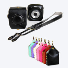 high quality PULeather Case Cover Pouch Protector For Instax SQ 10 Fuji SQ10 Camera Bag Polaroid Photo Camera case With Strap