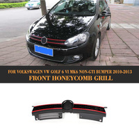 High Quality ABS Car Grille For Golf VI GTI Look Grill