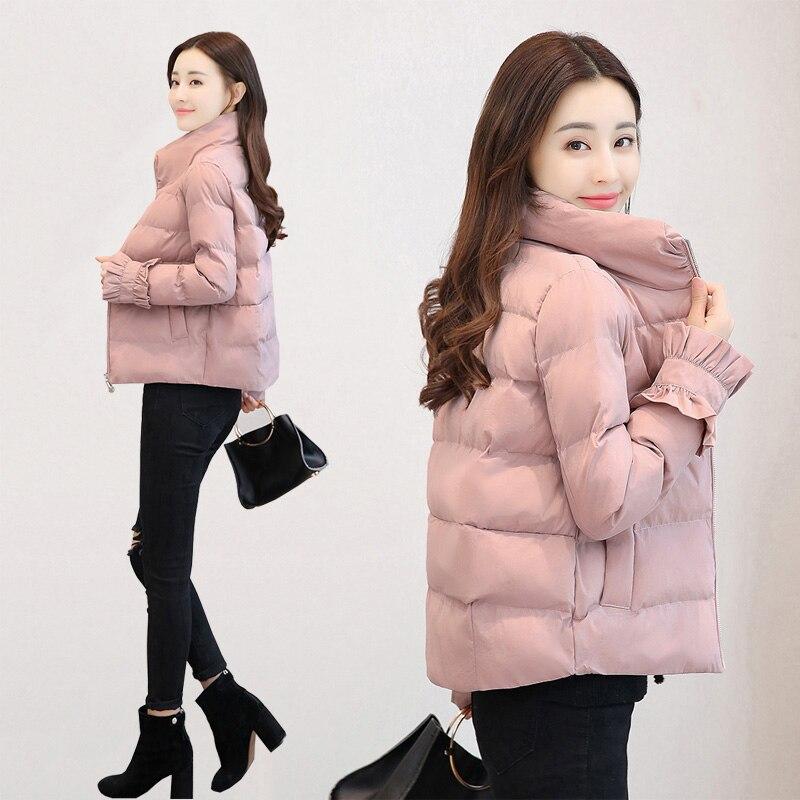 Femmes Veste Vers Couleur Vêtements Causal Épais 2018 Armygreen Pink Coton 6066 Manteau Hiver Red 6066 Marée 6066 X368 Pain Slim Caramel Solide Nouveau Le Bas 6066 6066 Black zqtw7nEnf