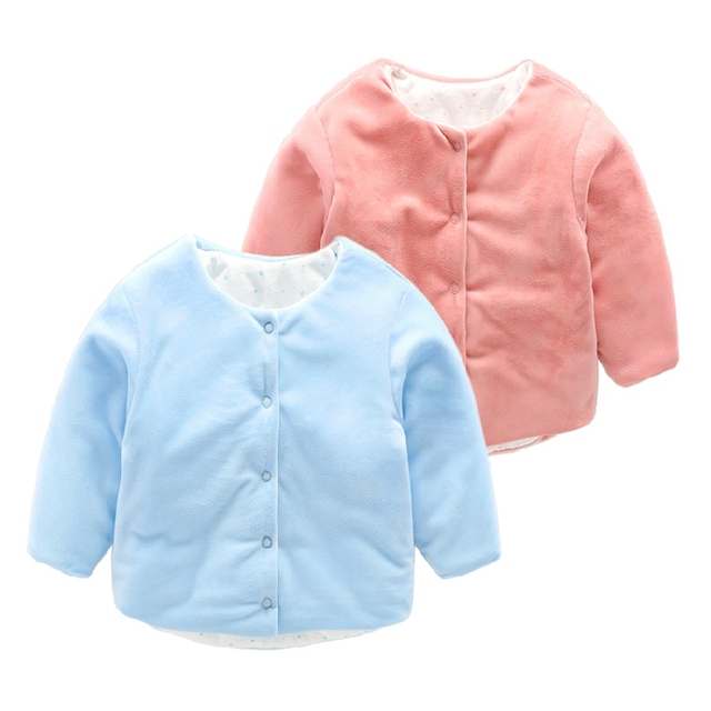 newborn winter jackets Baby wadded outerwear baby clothes
