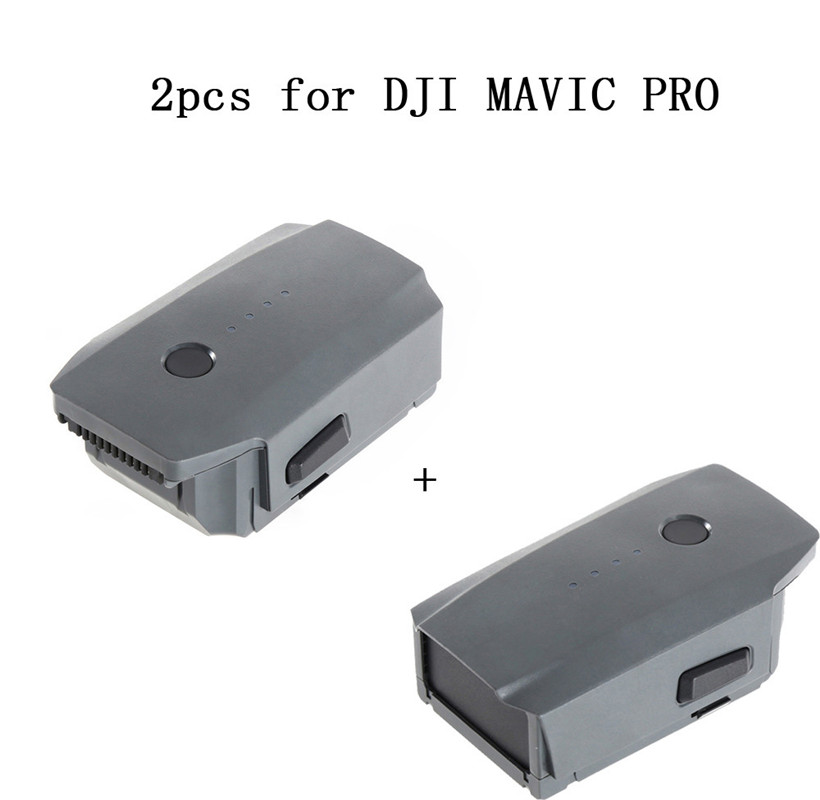 Hot sell 2pcs 3830mAh Intelligent Flight Battery for DJI Mavic Pro QuadCopter Drone drop shipping 0425