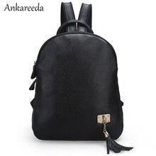 Марка Mochila женские сумки на плечо Натуральная кожа Винтаж путешествия рюкзак женская повседневная школьная сумка три слоя кисточкой Bookbags