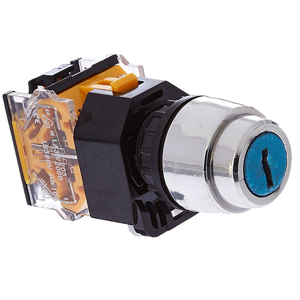 все цены на On/Off/On Three 3 Position Rotary Selector Key Lock Switch 10A 380V AC онлайн