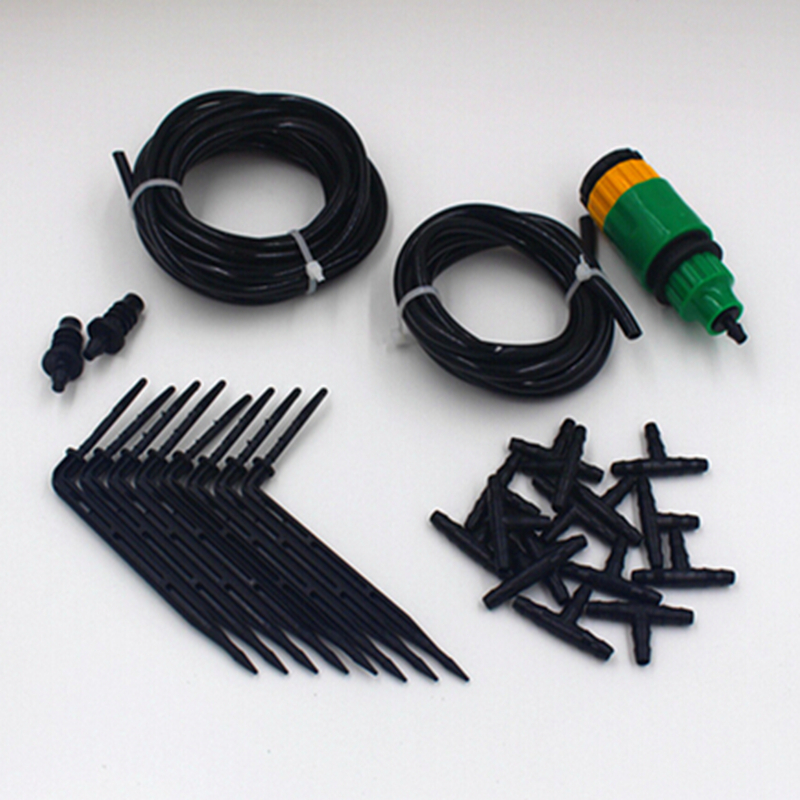 10m 4 7mm Hose Plant Irrigation System 5 Meters 3 5mm Micro Tube Drip Irrigation System