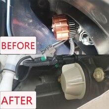 1 pc for ford Taurus 14735400 후면 커버 헤드 라이트 크세논 램프 LED 전구 확장 먼지 커버 전조등 먼지 커버 방수 캡