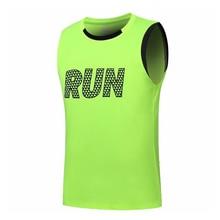 Men's Running Quick Dry Tank Top Sleeveless T-shirt Running Vest