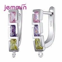 Jemmin Geometric Design Fine Austrian Crystal Earring Findin